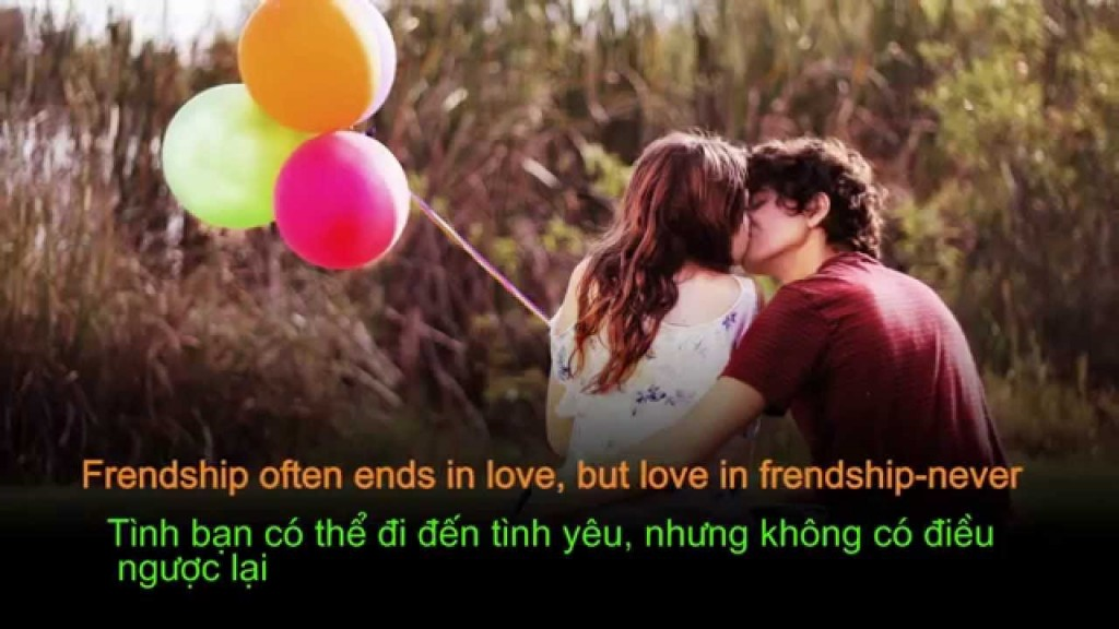frendship often ends in love