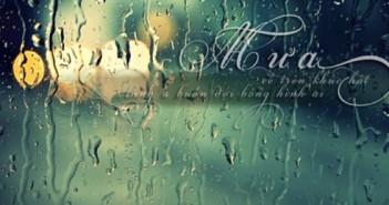 Những stt buồn nói về mưa cực chất hợp với tâm trạng -2