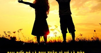 Những câu nói ý nghĩa về tình bạn bằng tiếng anh hay và thấm thía nhất -1