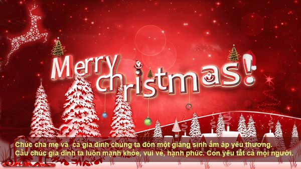 Những lời chúc giáng sinh và noel 2015 an lành hạnh phúc -2
