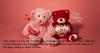 Lời chúc Valentine hay ngọt ngào cho người yêu vợ chồng 4