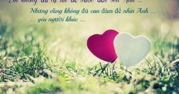 Những status buồn về tình yêu khi chia tay xúc động nhất hay nhất 10