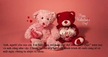 Lời chúc Valentine hay nhất ý nghĩa ngọt ngào cho người yêu 2016