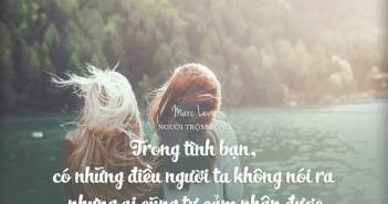 Những câu nói hay và ý nghĩa nhất về tình bạn thân thiết -5