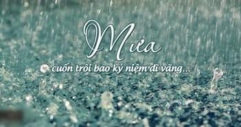 Status buồn về mưa hay ý nghĩa cảm động nhất 2