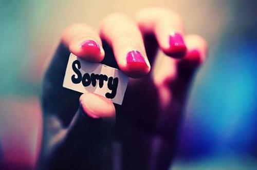 Cách xin lỗi người yêu ngọt ngào lãng mạn nhất các bạn trai cần biết