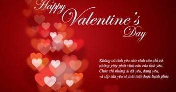 Lời chúc Valentine hay ý nghĩa nhất tặng người yêu bằng hình ảnh 1
