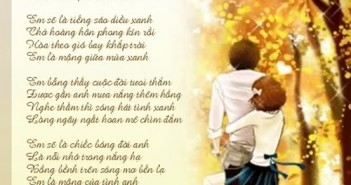 Thơ hay về tình yêu đẹp buồn lãng mạn cảm động nhất 1